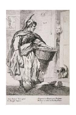 Mackerel Seller, Cries of London, 1760 by Paul Sandby