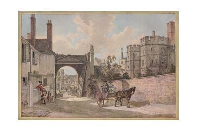 'Queen Elizabeth's Gateway, Windsor Castle', c1780
