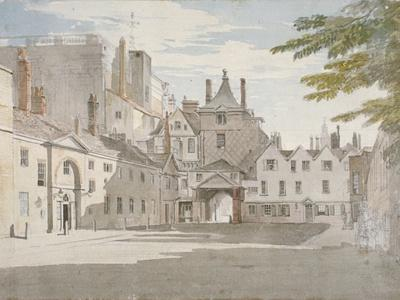 Scotland Yard with Part of the Banqueting House, Whitehall, Westminster, London, C1776