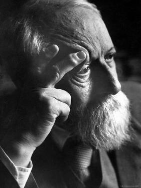 Philosopher Martin Buber, an Advocate of Arab Jewish Rapprochement by Paul Schutzer