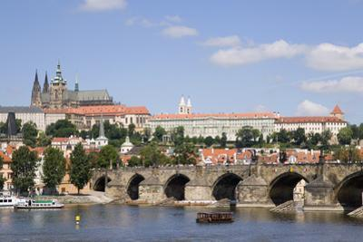The Charles Bridge and Vltava River by Paul Seheult
