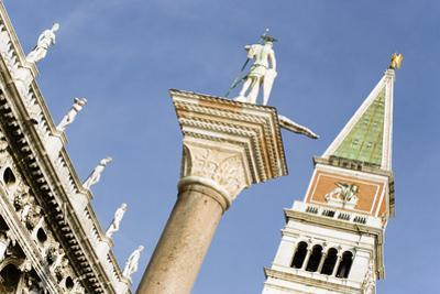 The Column of San Teodoro and Campanile by Paul Seheult