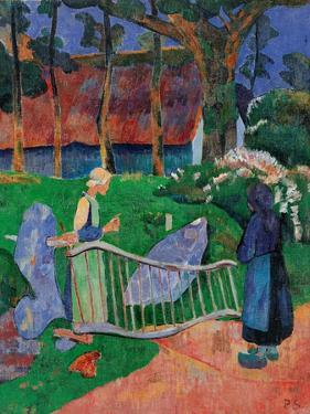 Fence with Flowers by Paul Serusier