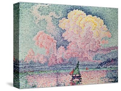 Antibes, the Pink Cloud, 1916 by Paul Signac