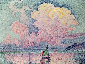 Antibes, the Pink Cloud, 1916 by Paul Signac