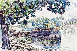 Asnières, c.1900-05 by Paul Signac