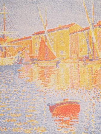 Buoy, Port of St. Tropez, 1894 by Paul Signac