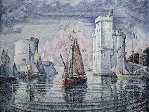 Entrance to the Port of La Rochelle by Paul Signac