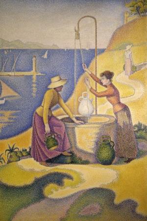 Femmes au puits by Paul Signac