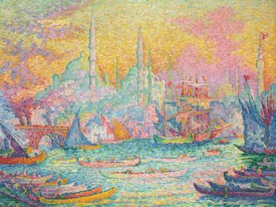Goldenes Horn, Konstantinopel. La Corne d'Or, Constantinople. 1907