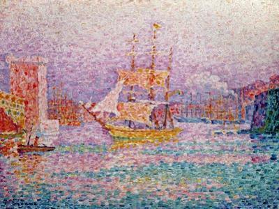 Harbour at Marseilles, circa 1906
