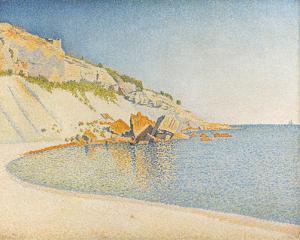 Opus 196, Cap Lombard, Cassis by Paul Signac