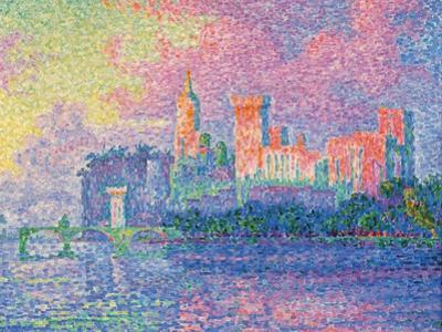 Papal Palace at Avignon by Paul Signac