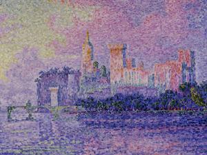 Papal Palace in Avignon, c.1900 by Paul Signac