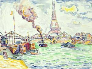Passy, C.1898 by Paul Signac