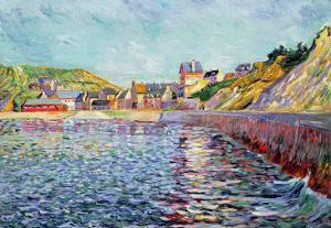 Port-En-Bessin, Calvados, C.1884 by Paul Signac