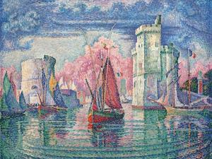 Port of La Rochelle by Paul Signac