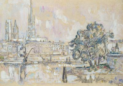 Rouen Cathedral by Paul Signac