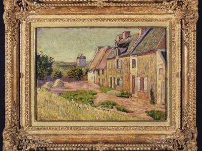 Saint-Briac, Cour a La Ville Hue, 1885