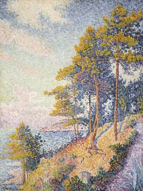 Saint Tropez, the Coastal Path, 1902 by Paul Signac