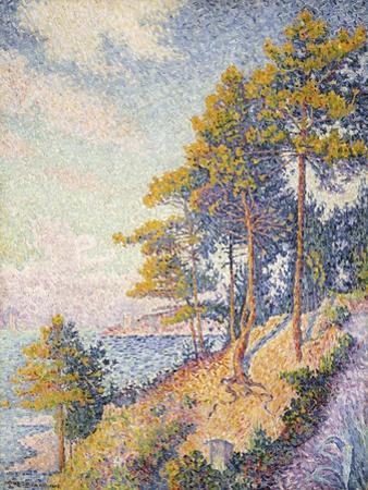 Saint Tropez, the Coastal Path, 1902