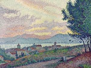 St. Tropez, Pinewood, 1896 by Paul Signac