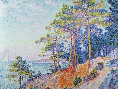 St. Tropez, the Custom's Path, 1905
