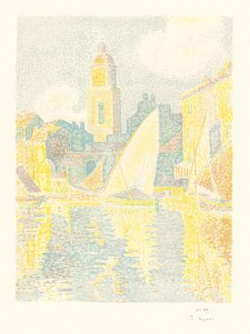 St. Tropez The Port by Paul Signac