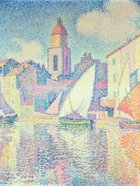 The Clocktower at St. Tropez, 1896 by Paul Signac