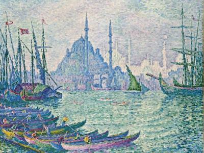 The Golden Horn, Minarets, 1907 by Paul Signac