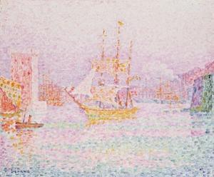 The Harbour at Marseilles by Paul Signac