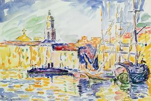 The Harbour at St. Tropez, c.1905 by Paul Signac