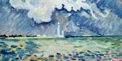 The Lighthouse at Gatteville by Paul Signac