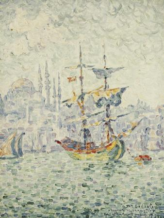 The Port of Constantinople; Le Port de Constantinople, 1907
