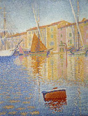 The Red Buoy, 1895 by Paul Signac