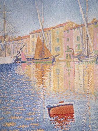 The Red Buoy, Saint Tropez, 1895 by Paul Signac