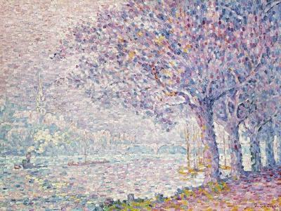 The Seine at St. Cloud, La Seine a St. Cloud, 1903
