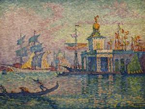 Venice- the Customs House; Venise- La Douane de Mer, 1908 by Paul Signac