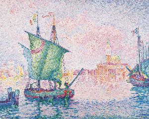 Venice, The Pink Cloud by Paul Signac