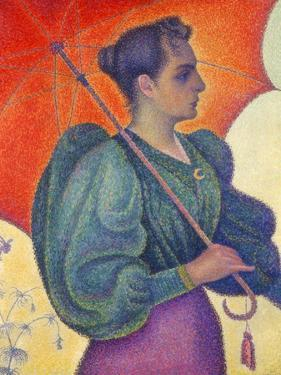 Woman with Umbrella, 1898 by Paul Signac