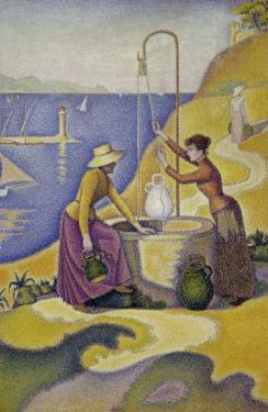 Women at the Well, Opus 238, c.1892 by Paul Signac