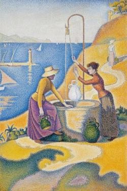 Women at the Well by Paul Signac