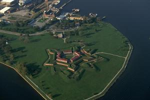 Aerial View of Fort Mchenry National Monument in Baltimore by Paul Souders