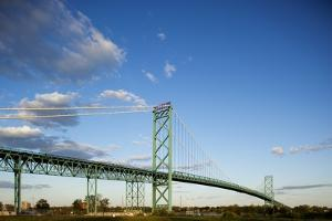 Ambassador Bridge, Detroit, Michigan by Paul Souders