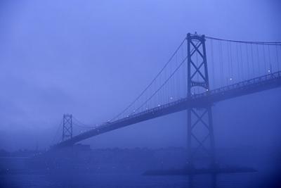 Angus Mcdonald Bridge in Nova Scotia by Paul Souders