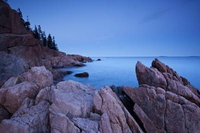 Atlantic Coastline, Acadia National Park, Maine by Paul Souders