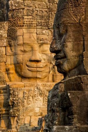 Bayon Temple, Angkor Wat, Siem Reap, Cambodia by Paul Souders