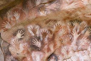 Cave of Hands in Patagonia, Argentina by Paul Souders