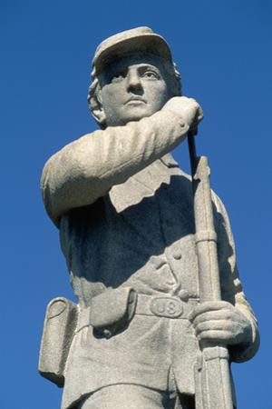 Civil War Memorial at Battlefield by Paul Souders
