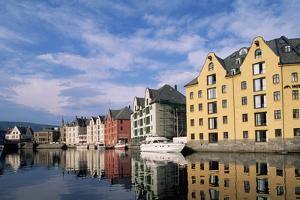 Converted Warehouses in Alesund, Norway by Paul Souders